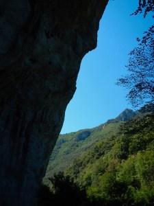 La parete di Candalla, una arrampicata per pochi