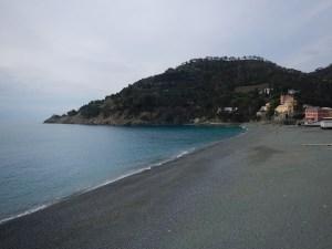 La spiaggia di Bonassola