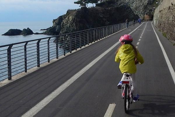 La ciclopedonale sul mare Levanto-Bonassola-Framura