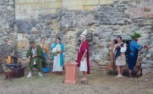 Ricostruzione di un rito Etrusco a Pieve a Socana