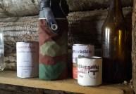 Scatolame in un bunker tedesco