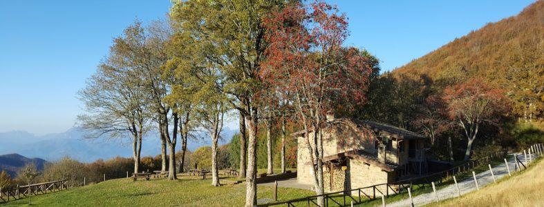 Il Giro del Diavolo e il rifugio Burigone in San Pellegrino in Alpe