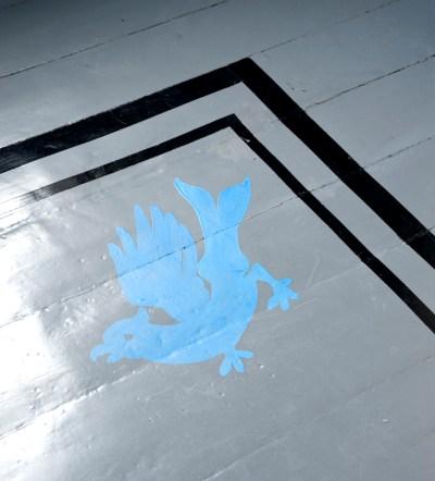 Den blå fugl er både Kulturhavens og Kulturparkens symbol