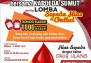 Perduli Kesehatan, Kapolda Sumut : Yuk Kita Donor Darah Bantu Sesama