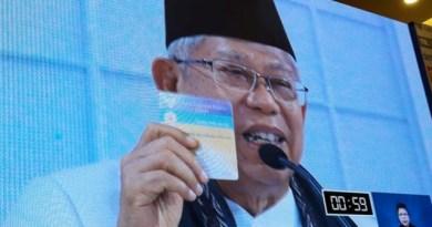 Dalam Usia 76 tahun, Ma'ruf Amin Tahan Berdebat Sekitar 2 Jam