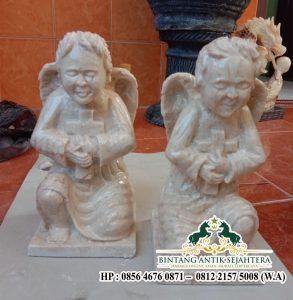 Jual Patung Marmer Malaikat Angel Pengrajin Patung Marmer