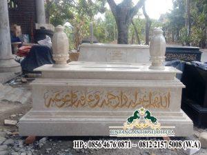 Spesialis Pengrajin Makam Marmer Jual Kijing Marmer