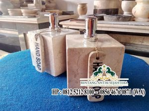 Kerajinan Tempat Shampo Marmer