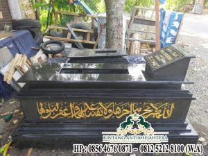 Contoh Kijing Makam Islam | Model Kijing Batu Alam