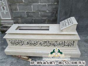 Contoh Kijing Islam Marmer dan Granit | Kijing Makam Marmer Berkualitas