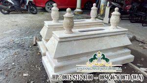 Contoh Makam Modern Marmer, Model Makam Bokoran Terbaru