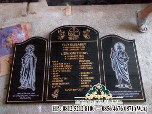 Prasasti Bongpay Kristen, Kuburan Batu Granit Bongpay Minimalis