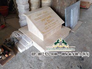 Contoh Batu Nisan Marmer