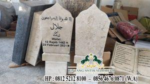 Batu Nisan Patok Marmer, Model Produk Nisan Patok Terbaru