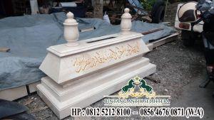 Contoh Makam Bokoran Tumpuk Marmer