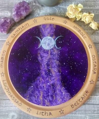 Plaque d'autel ©La Palette de Pandora