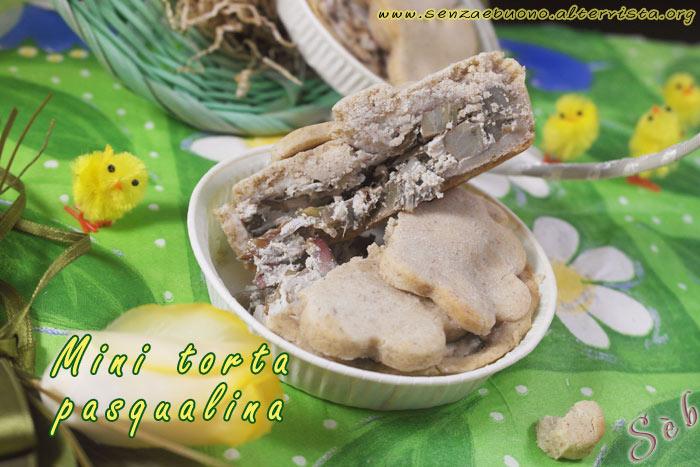 Mini torta Pasqualina senza glutine vegan