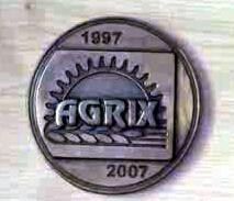 Plakett | Agrix 2007