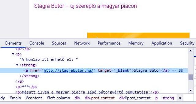 A reblog.hu a blank mellé nem tesz noreferrer-t