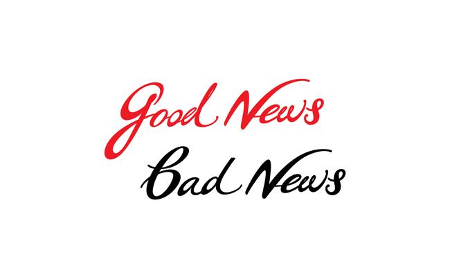 articleimage429Goodnewsandbadnews
