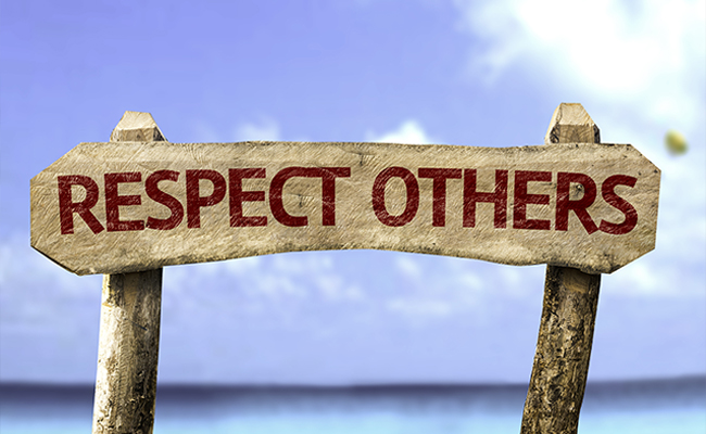Respect others' blogs and brands