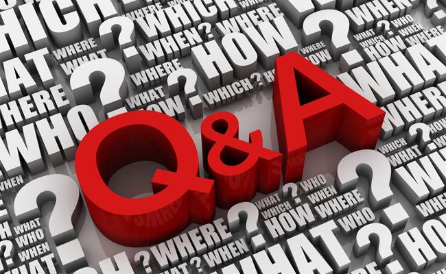 articleimage1741 A Q & A session