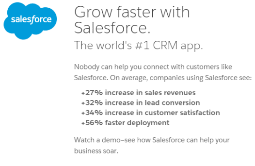 Salesforce CRM App