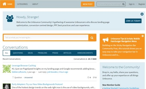 Unbounce Knowledge Bank