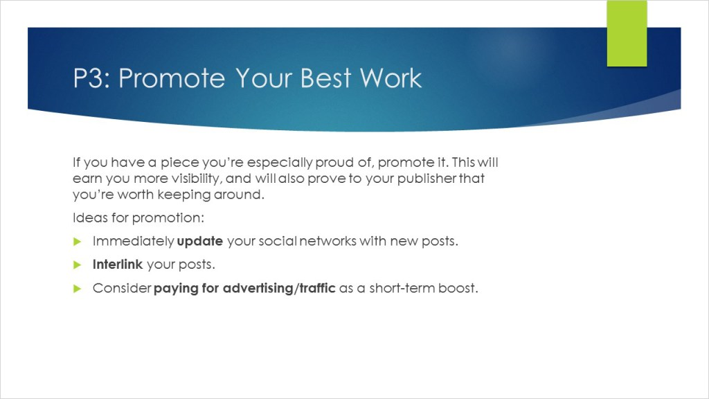 Promote Your Blog Content