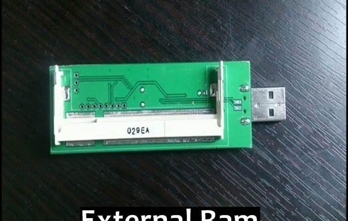 External RAM