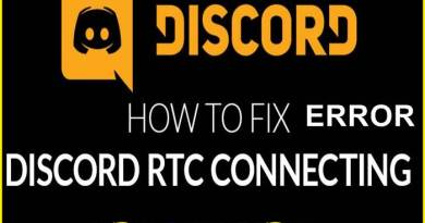 RTC Connecting Discord