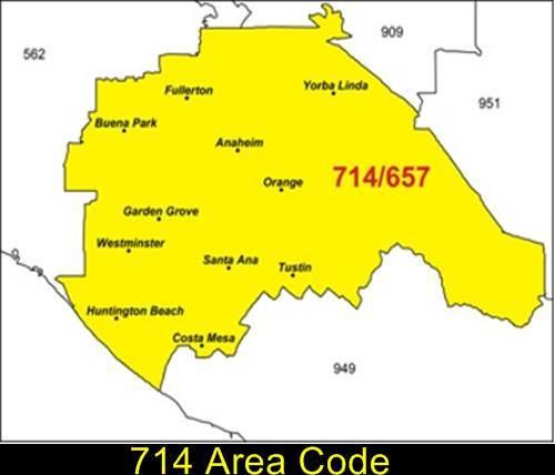 714 Area Code