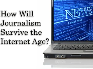 How might journalism survive
