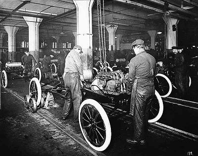 Ford's innovation in assembly