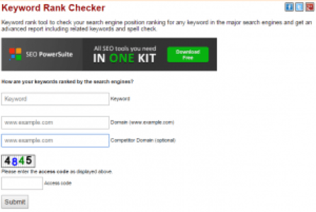 SEO Centro Keyword Rank Checker