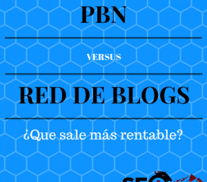 PBN VS Red de Blogs ¿Qué sale más rentable?