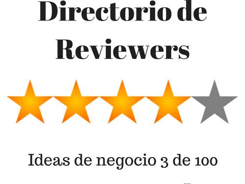Directorio de reviewers Amazon, Tripadvisor y Local Guides [Ideas de negocio 3 de 100]