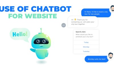 Use of Chatbot For Website