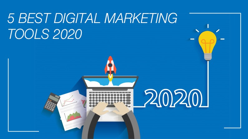 5 BEST DIGITAL MARKETING TOOLS FOR 2020!!!