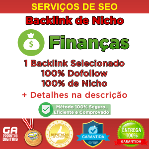 financas - Backlink Nicho Finanças Dofollow Guest Post Seo