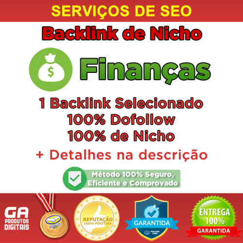 Backlink Nicho Finanças Dofollow Guest Post Seo