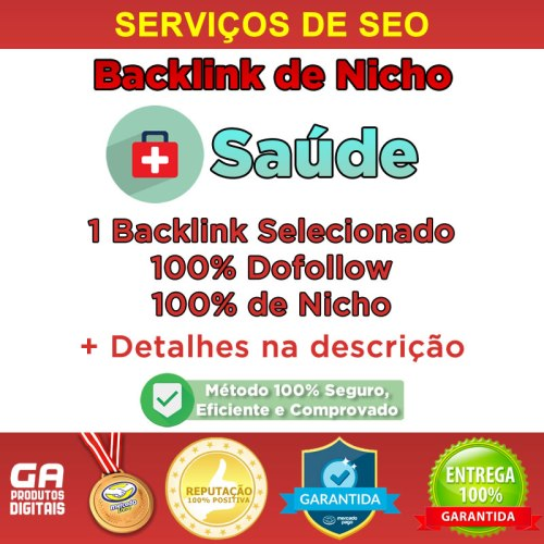 Backlink Nicho Saúde Dofollow Guest Post Seo