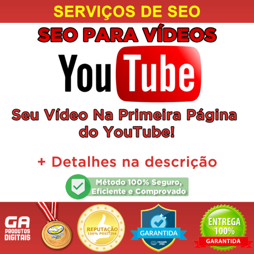 Seo Para Youtube – Vídeo na Primeira Página do YouTube