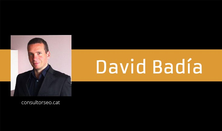 David Badía - Consultorseo.cat