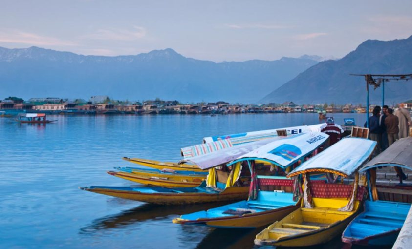 Image result for shikara touts in dal lake