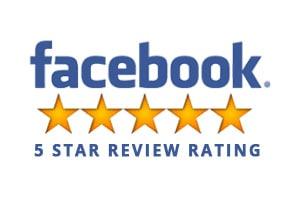 Facebook reviews 5 stars