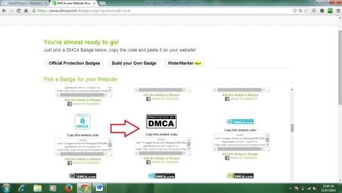 Cách đăng ký DMCA để bảo vệ bản quyền bài viết