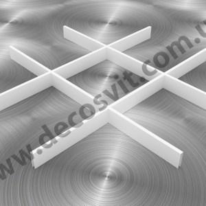 Грильято 200х200 RAL 9003 подвесные потолки