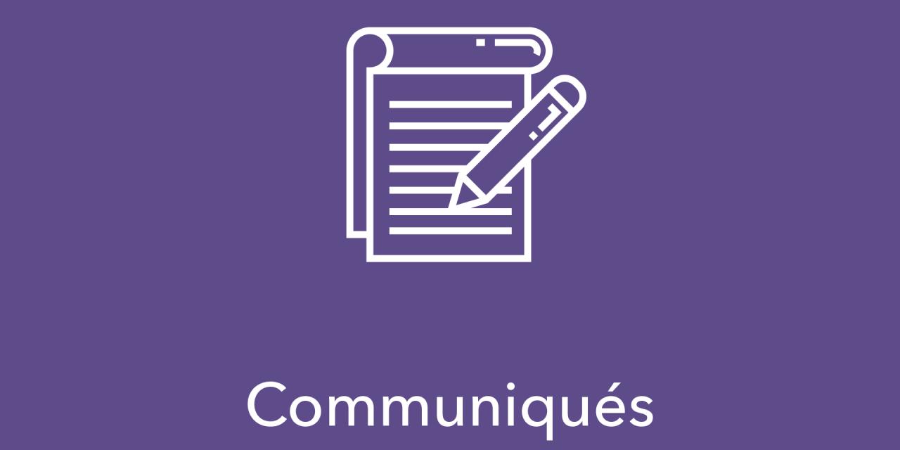 Communiqué – élection au poste de conseillère ou conseiller par intérim à la formation professionnelle