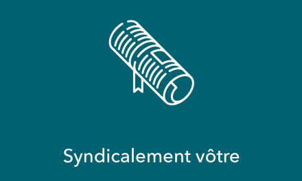 Syndicalement vôtre – Volume 17 no 8